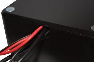 Schutzbox Kabeldurchführung