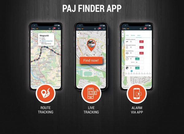 Highlights PAJ Finder App