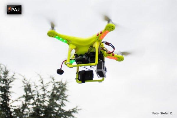 GPS-Tracker für Drohnen - Quadrocopter - Flugobjekte