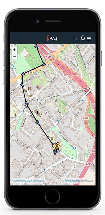 Handy GPS Tracker