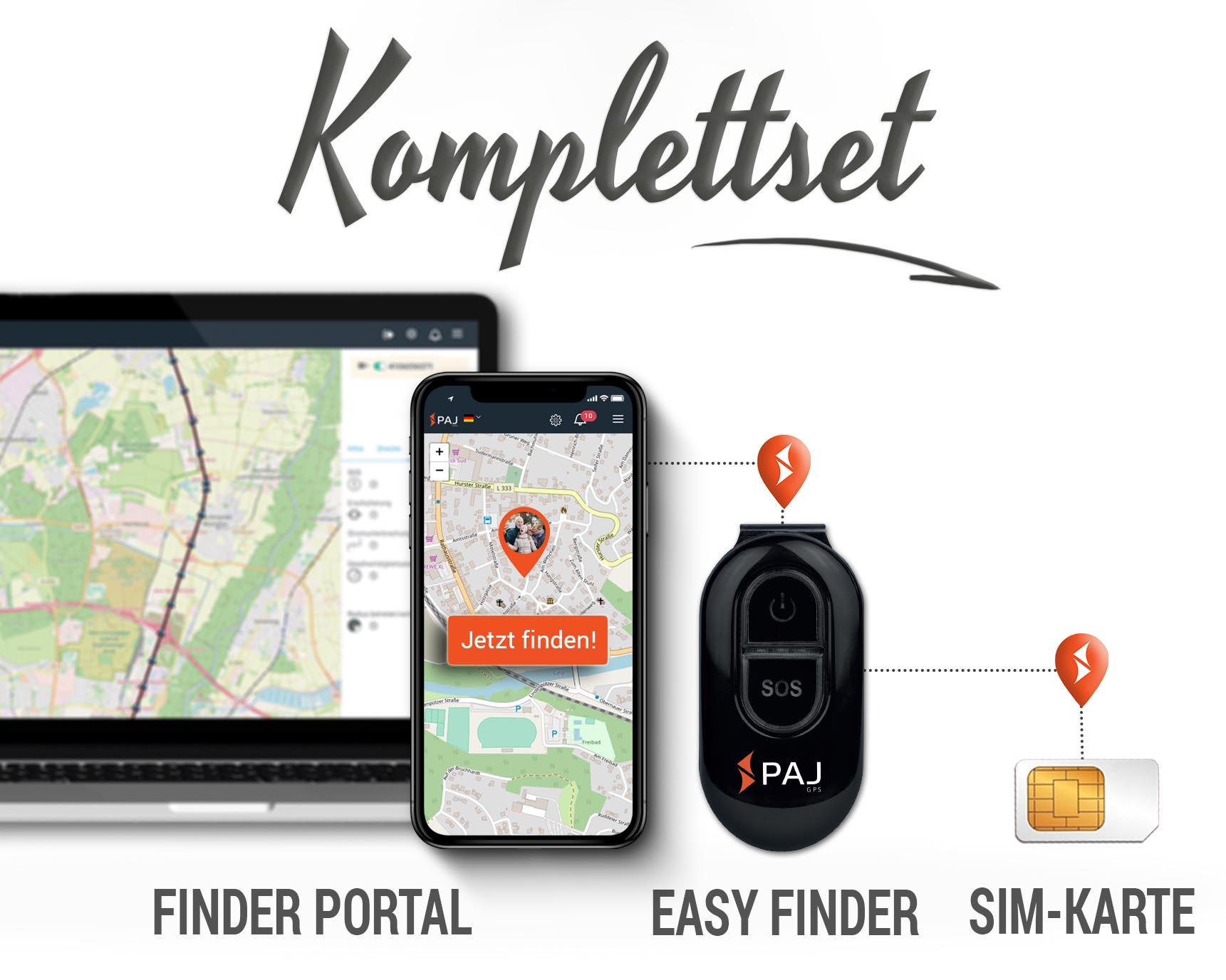 GPS Tracker für Personen; Mini GPS Tracker