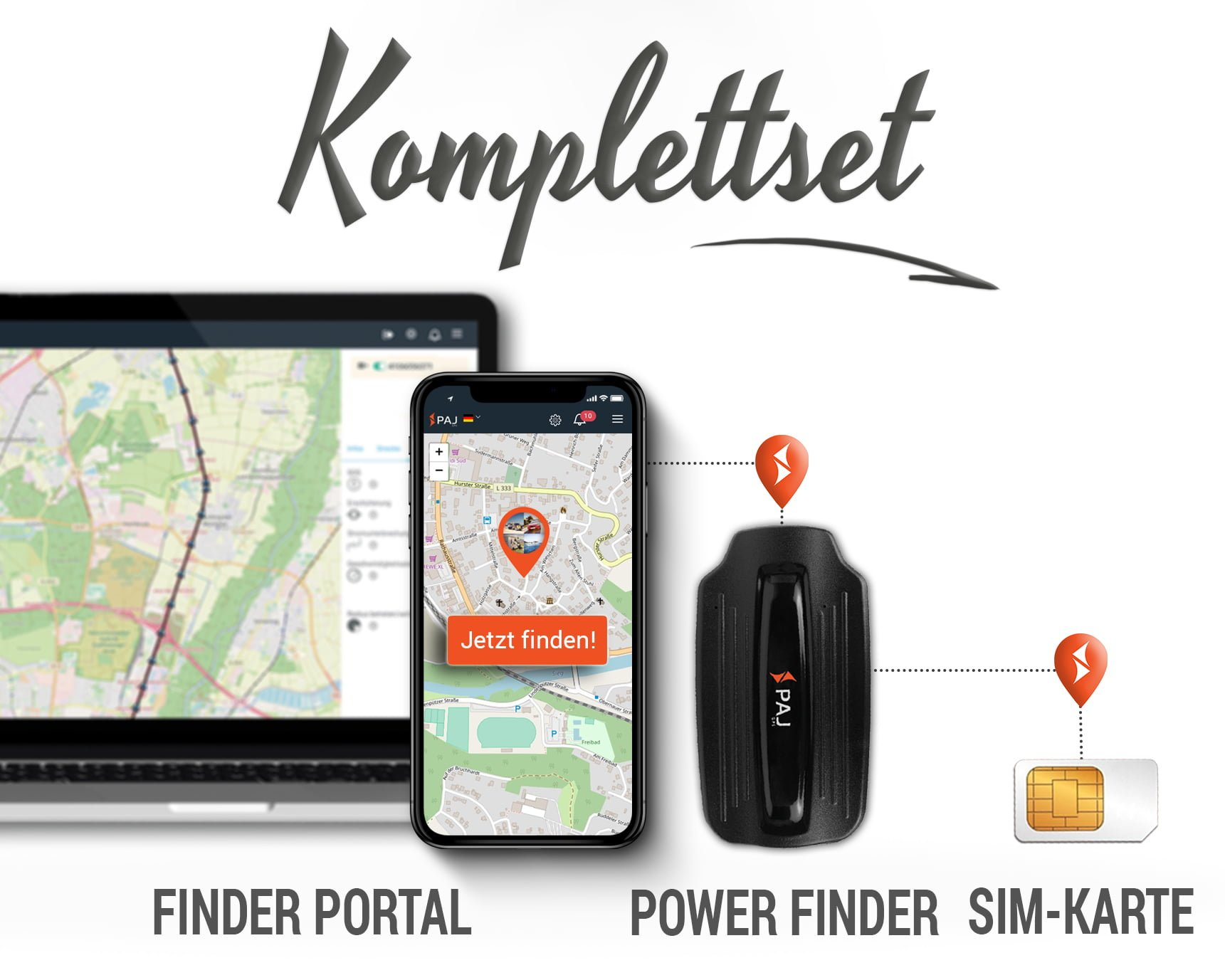 Collage Komplettset power weiß - Finder mieten