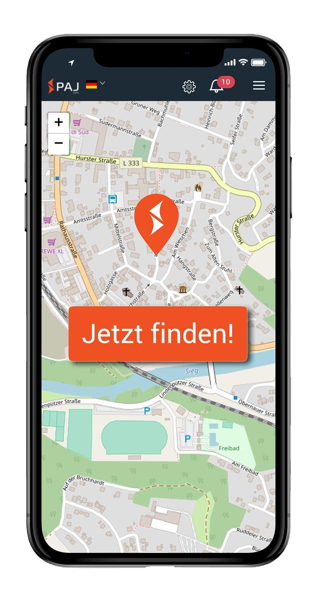 AppJetztFinden001 - LP für Jahn & Partner
