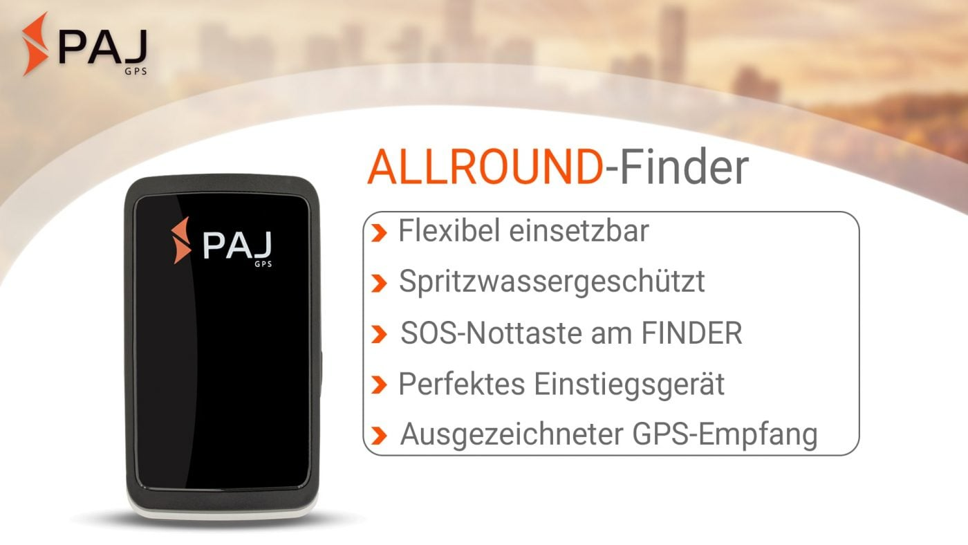 GPS Tracker; ALLROUND Finder