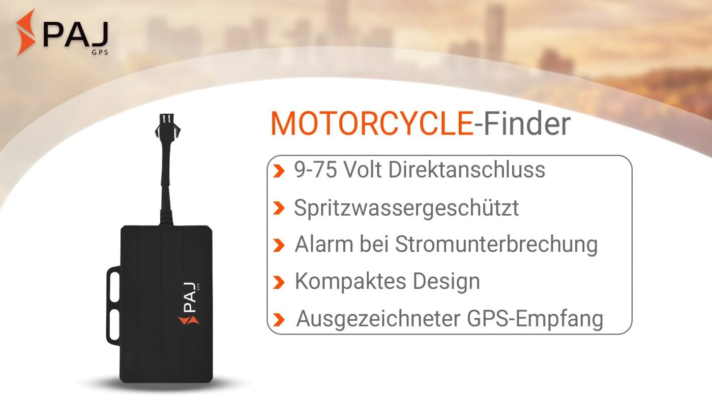 GPS Tracker; MOTORCYCLE Finder