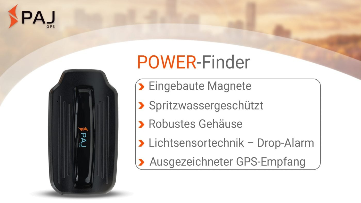GPS Tracker; POWER Finder