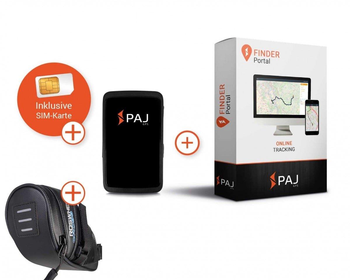 komplettset fuer allround finder von paj fahrradtasche - Als Autobesitzer von einem GPS Tracker profitieren
