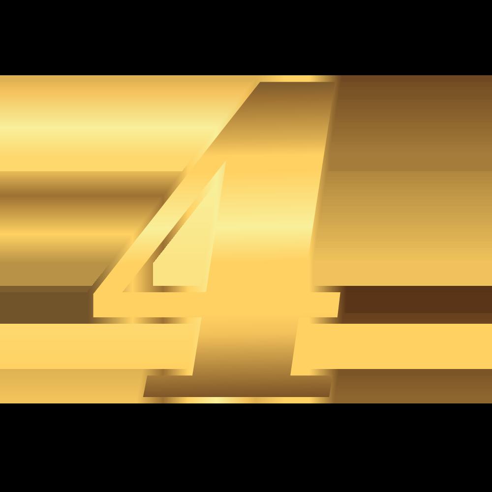 number gold 4 - LP- Beta-Test