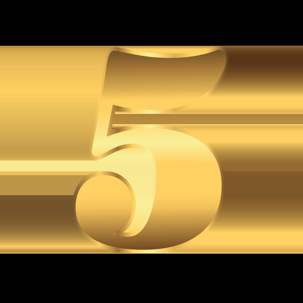 number gold 5 - LP- Beta-Test