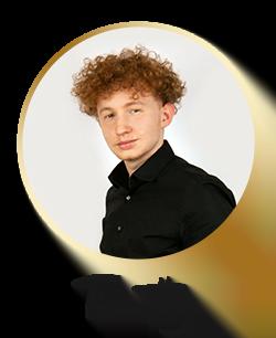 Team Footer nur Name Timothy - Gutschein 5%