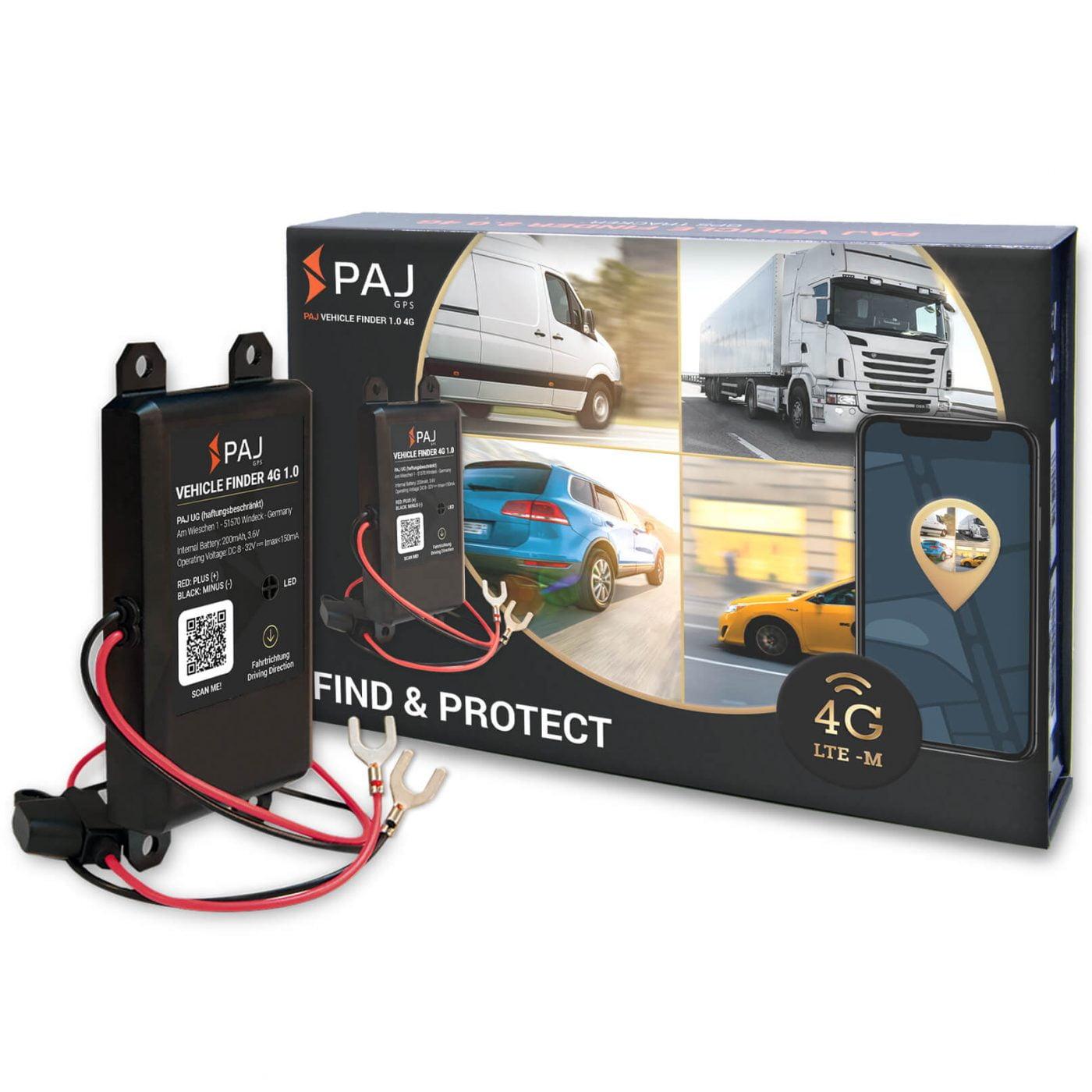 collage vehicle finder 1.0 4g paj neue version 1400x1400 - AG GPS-Tracker für Landwirtschaft